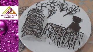 Çikolata İle Pasta Süsleme Tarifi - Pratik Yemek Tarifleri