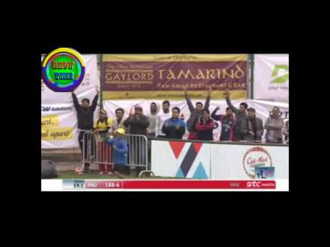 MISBAH BLAST 83 of 37  6SSSRZ AT Hong Blitz T20
