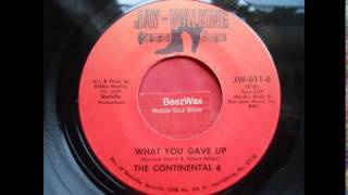 continental 4 - what you gave up