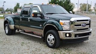 2011 Ford F-450 King Ranch Powerstroke Dually For Sale Dayton Troy Piqua Sidney Ohio | CP14197T