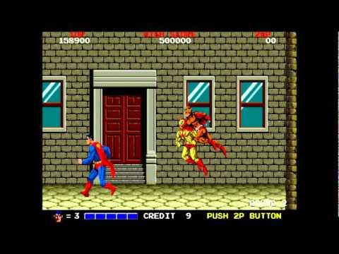 Superman Arcade Game-Play