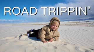 OUR SOUTHWEST RV TRIP! | WHITE SANDS, CARLSBAD CAVERNS, MARFA, BIG BEND!