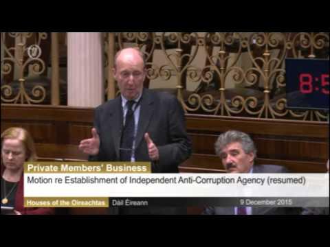 Shane Ross on Corruption