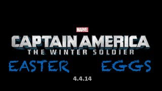 What You May Have Missed in Captain America 2 + Easter Eggs