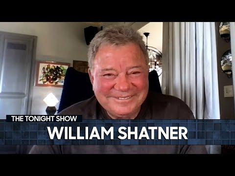 William Shatner's Overwhelming Trip to Space Was a Wake-Up Call   The Tonight Show