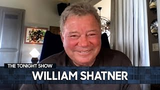 William Shatner's Overwhelming Trip to Space Was a Wake-Up Call | The Tonight Show