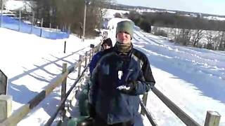 A conveyor belt up the hill at Powder Ridge Thumbnail