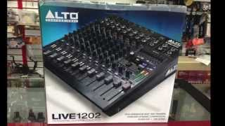 UNBOXING ALTO PROFESSIONAL LIVE 1202 - HUAZZABY GROUP. HD