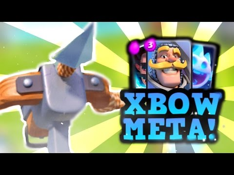 TRY THIS FAST XBOW DECK! (It Won't Disappoint!) :: Clash Royale