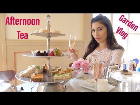 AFTERNOON TEA | HUNTINGTON LIBRARY VLOG
