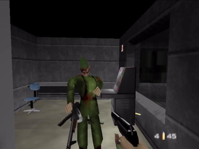 Jouez à Goldeneye 007 sur Nintendo 64 avec nos Bartops et Consoles Retrogaming