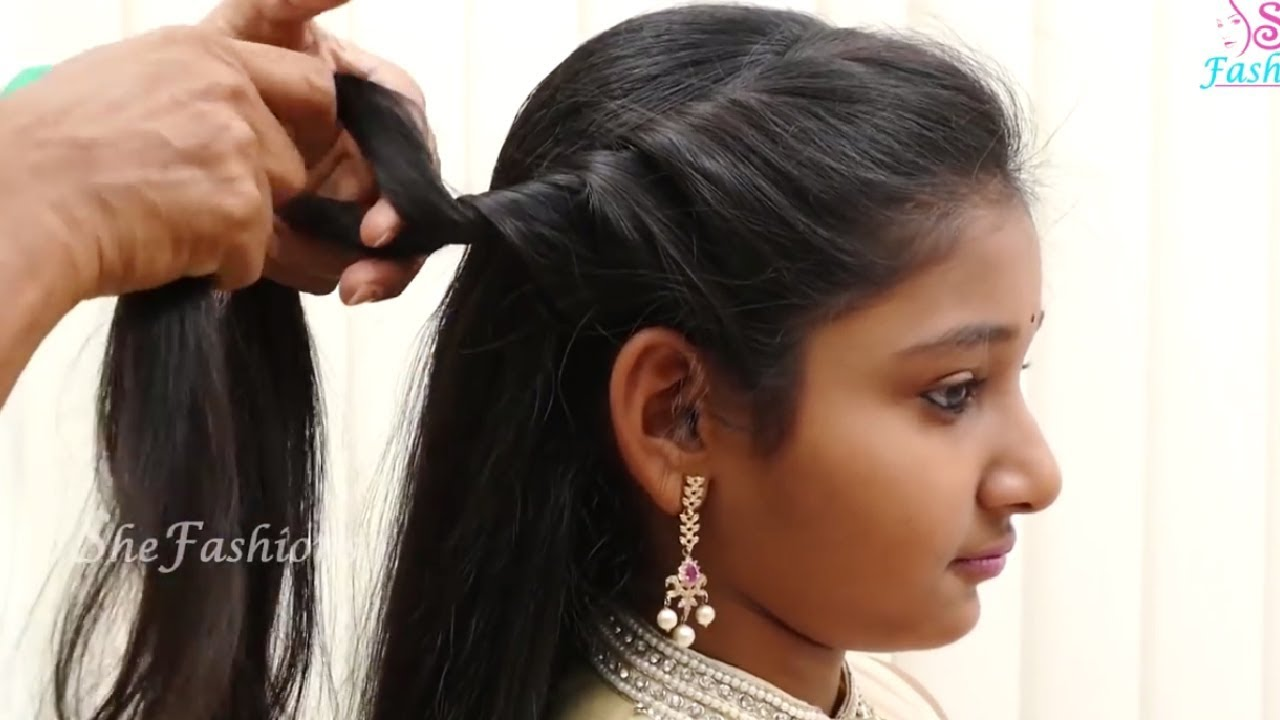 Beautifull And Easy Nice Hairstyles For Cute Little Girls Kids Hair Style Videos 2017 Part Youtube