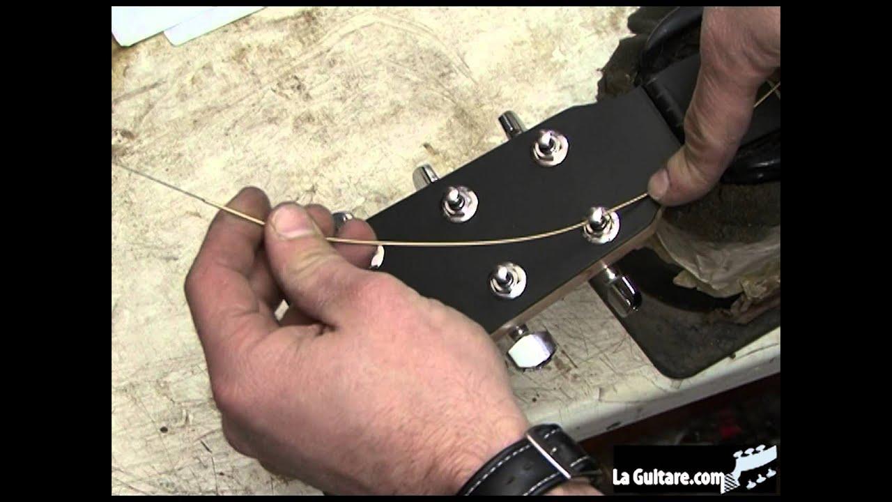 Changer les cordes de sa guitare folk - par Didier Duboscq ...