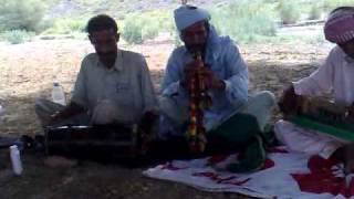 Alghoza saaz, sindhi Music Sraiki lok in mountain of zinda peer-2