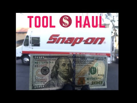 Snap-On Tool Haul with $100 (MUST WATCH)