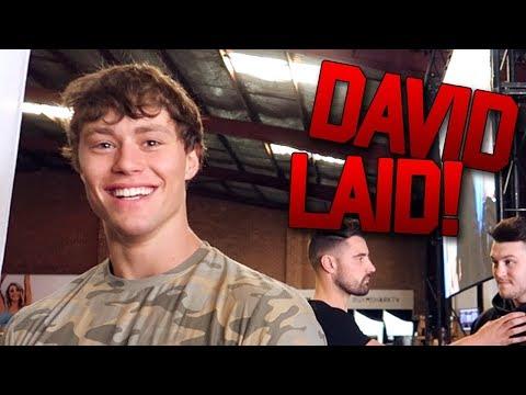 MEETING DAVID LAID + DEADLIFTING 4 PLATES? (Melbourne Gymshark Pop-Up) {UZOMA, ROBIN, BEN, KARINA}