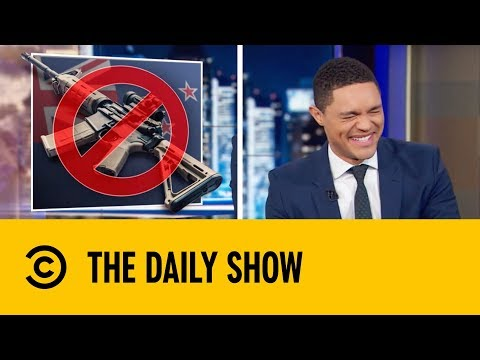 New Zealand Enforces Immediate Arms Ban | The Daily Show with Trevor Noah thumbnail
