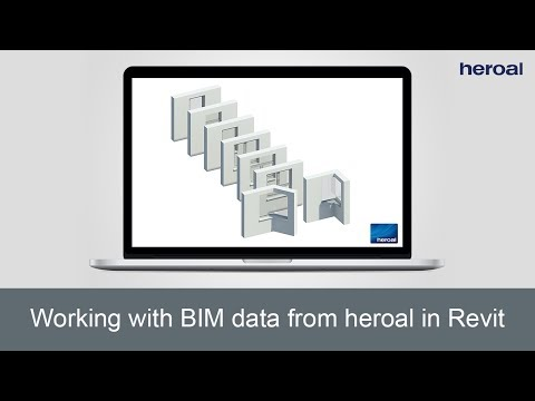 Working With BIM Data From Heroal In Revit | Heroal Services