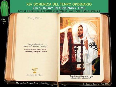 """""""Un profeta non è disprezzato se non nella sua patria,, tra i suoi parenti e in casa sua."""""""