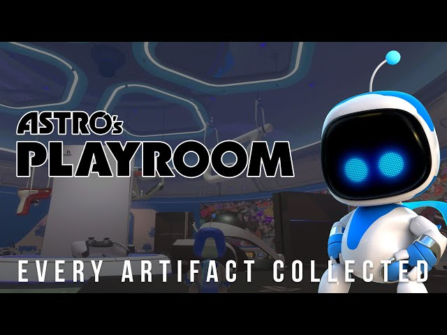Astro's Playroom (PS5 4K 60fps) All Artifacts Collected
