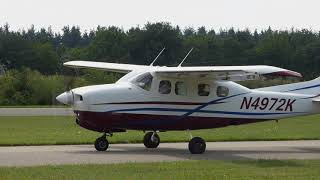 Awesome Sound! Cessna P.210-N [Take-off] [EHSE]
