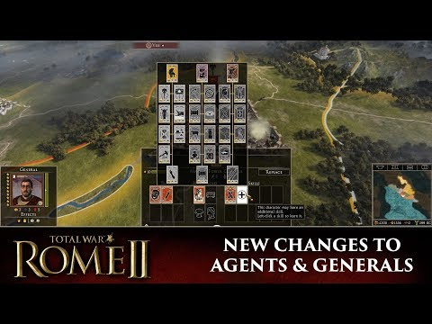Total War: Rome 2 - New Changes To Agents & Generals