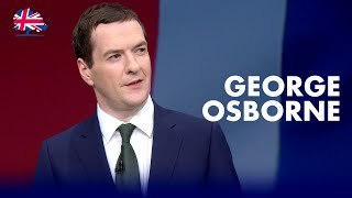 George Osborne: Speech to Conservative Party Conference 2015