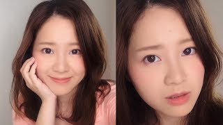 水蜜桃霧感清新妝容 Matte Peach Makeup Tutorial