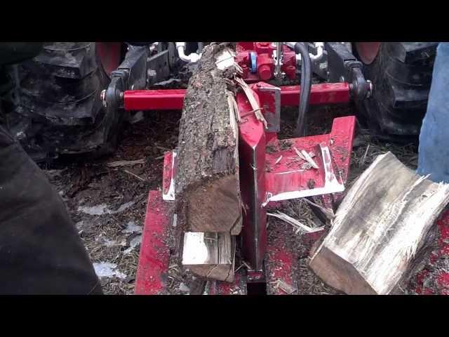 Split Fire 3403 3pt log splitter with log lift