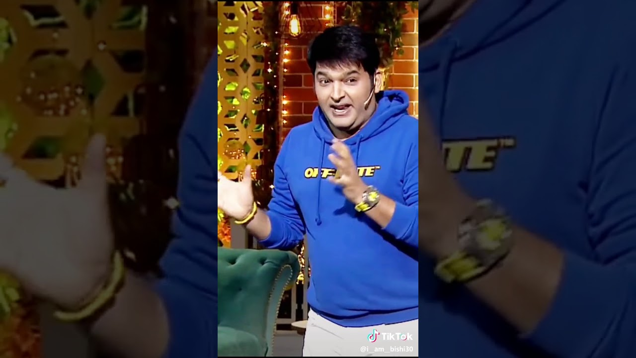 Kapil Sharma very funny must listen and watch