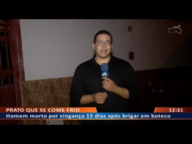DF ALERTA - Homem morto por vingança 15 dias após brigar em boteco