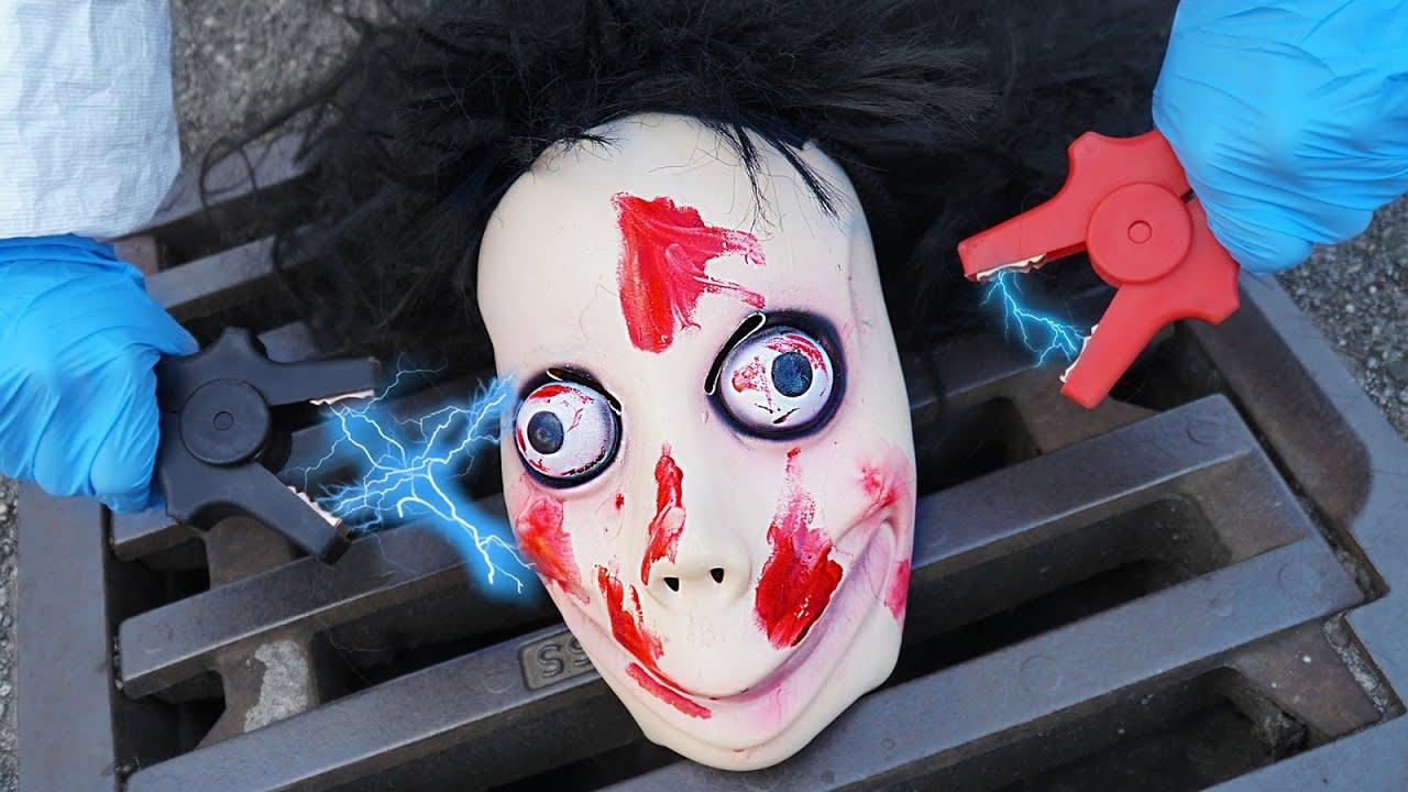 XOXO MASKE ELEKTROSCHOCKEN mit STORM und ZERSTÖREN!! *sie lebt wirklich*