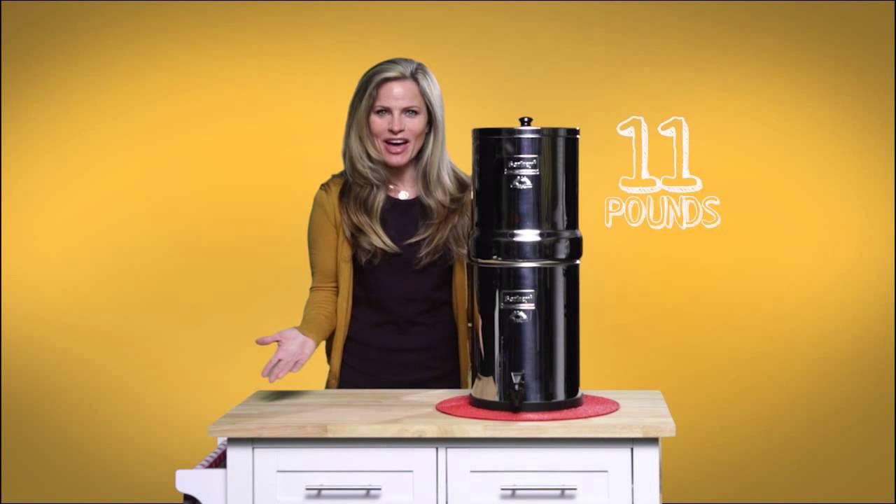 Royal Berkey Water Filter Youtube