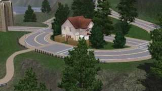 Mini villa de luxe Sims 3