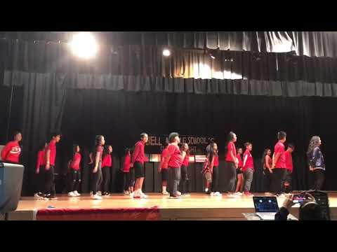 """Modern Dance, """"Drake, Look Alive"""" by Filipino Class at Bell Middle School Culture Night 2018"""