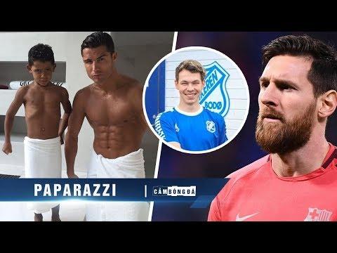 Paparazzi | Hú vía chuyện Messi sang Na Uy thi đấu, CR7 chia sẻ cách dạy con