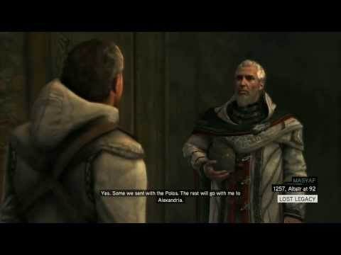 Altair's Death in Assassins Creed Revelations(720p)