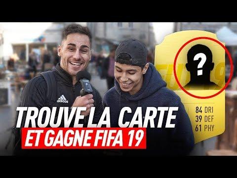 TROUVE LA CARTE FUT DE CE JOUEUR ET GAGNE FIFA 19 !