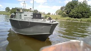 Midwest - PT-109 Elco 80 class Scale RC torpedo boat