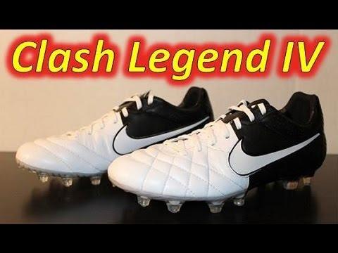 Suposiciones, suposiciones. Adivinar horario Formular  Nike Tiempo Legend IV White/White/Black (Euro 2012 Clash Collection) -  UNBOXING - YouTube