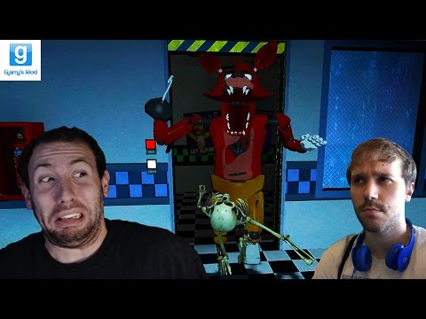 Thumbnail: GMOD FNAF Horror Map w/ Yami Part 2: FOXY IS SCARY AS HELL!!!