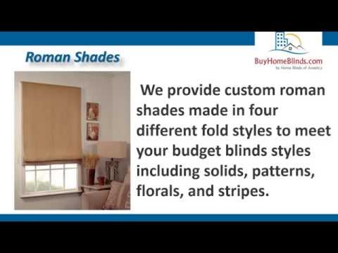 Roman Shades | Buy Home Blinds | Home Blinds of America