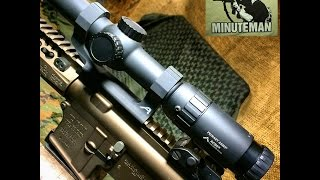 Primary Arms 1 6x ACSS Reticle Scope Review