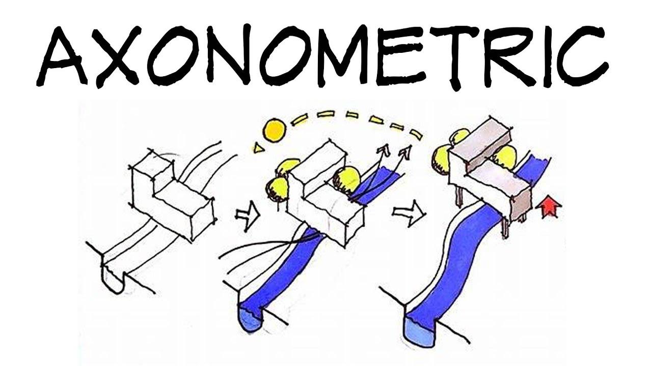 Axonometric diagrams  Architecture Daily Sketches  YouTube