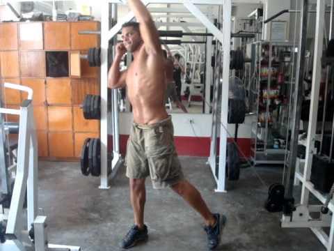 Miguel Llanos-Rutina de pesas para MMA - YouTube