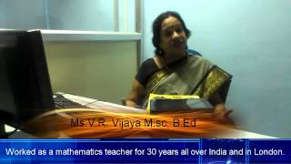 Ms V.R. Vijaya M.sc, B.Ed talks about Change in Education due to Tablet PC