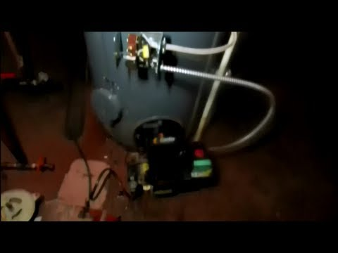 Bock Oil Fired 40 Gallon Hot Water Heater Goes For A Swim Youtube
