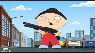 Family Guy - Stewie has got a gun