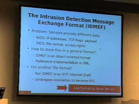 22C3: Intrusion Detection Systems