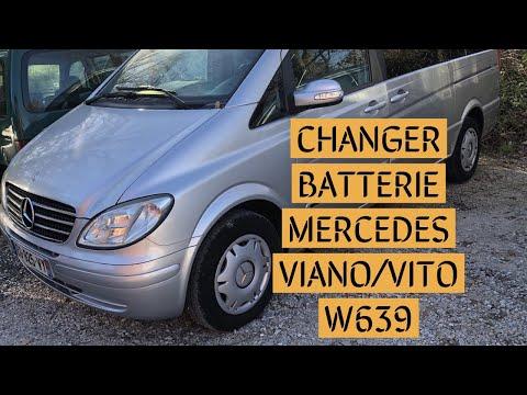 Remplacement Diesel Filtre à carburant Mercedes Vito Bus W639 111 CDI